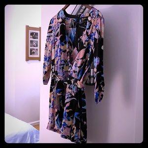 Yumi Kim floral romper - 100% silk